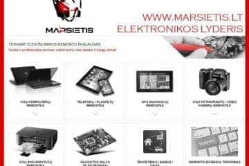 WWW.MARSIETIS.LT - ELEKTRONIKOS LYDERIS VISOJE LIETUVOJE - 1/1
