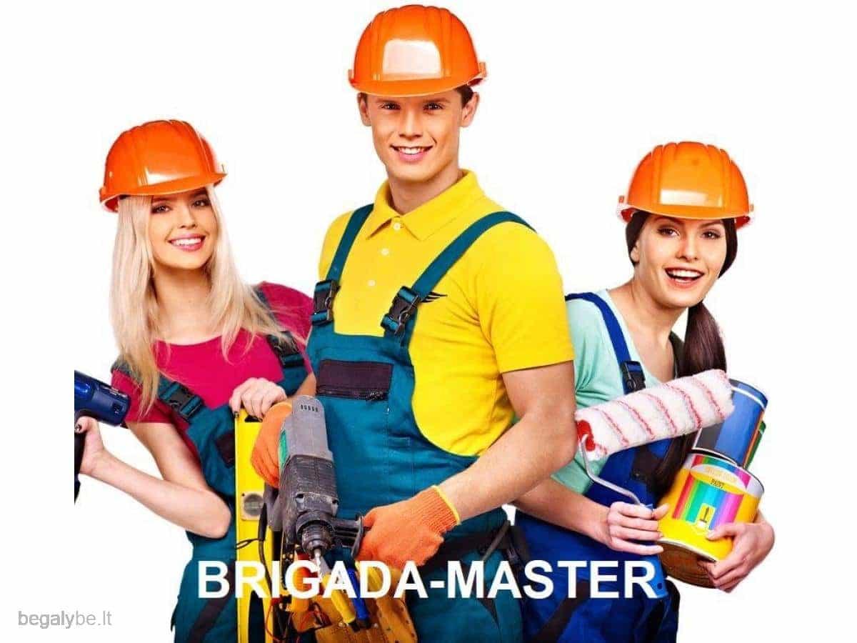 Kapitaliniai busto remontai ar įrengimas kompleksiškai /Brigada-Master/ - 1/10