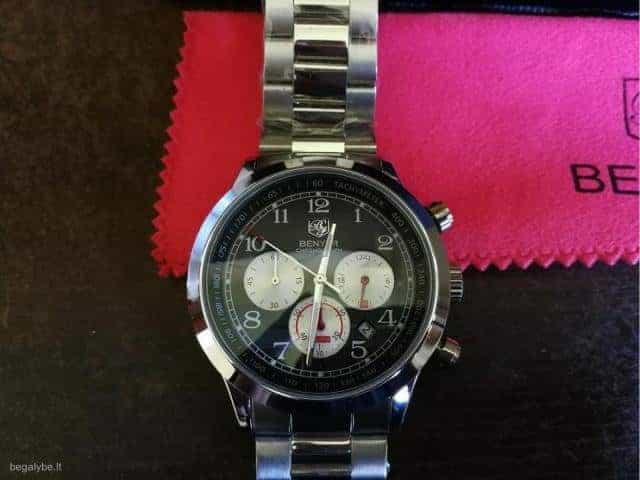 BENYAR patrauklus gražus laikrodis firminėje dėžutėje