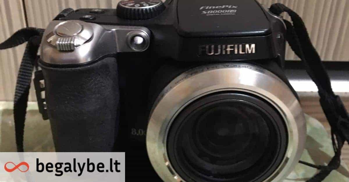 Fujifilm FinePix S8000fd (Fuji) fotoaparatas