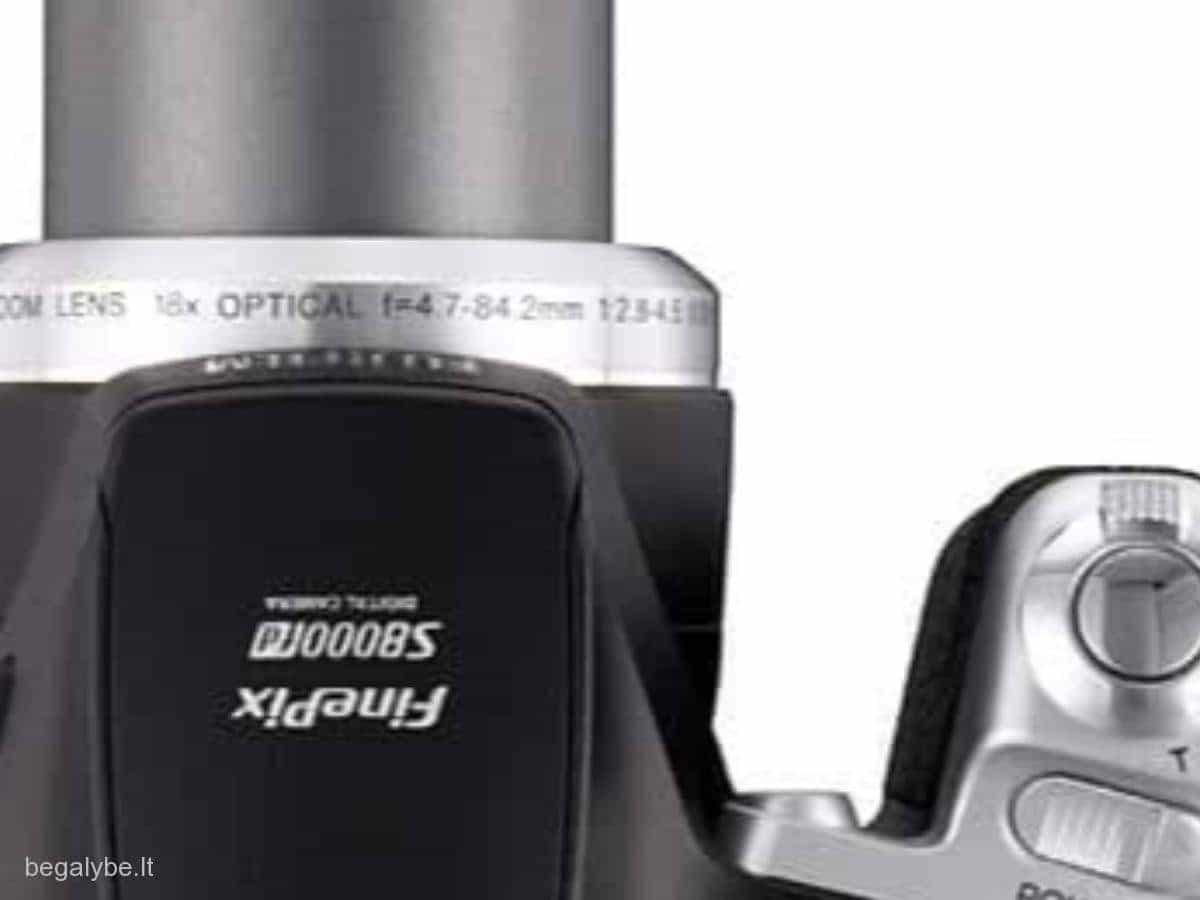 Fujifilm FinePix S8000fd (Fuji) fotoaparatas - 6/6