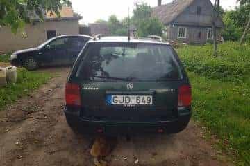 VW Passat B5 universalas - 3/8