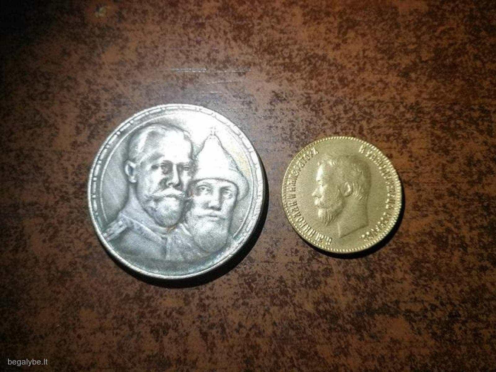 Pora caro monetų
