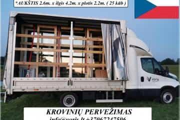 Čekija KROVINIŲ PERVEŽIMAS / GABENIMAS / PERKRA