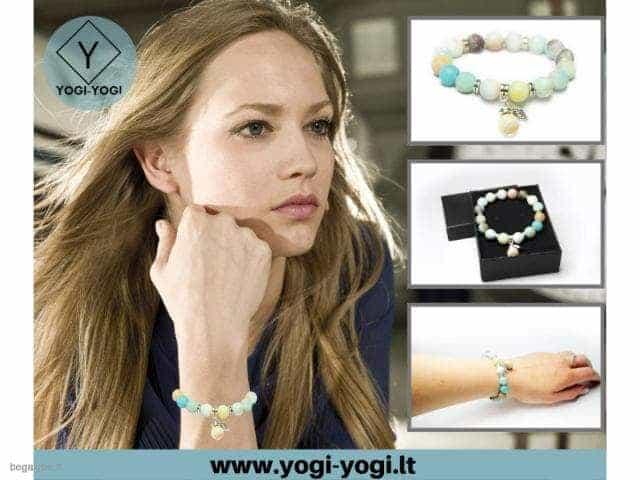 www.yogi-yogi.lt elektroninė papuošalų parduotuvė: apyrankės,