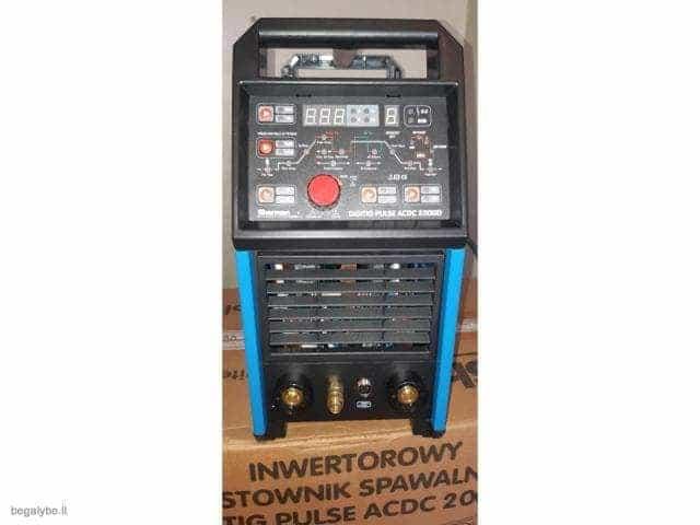 Suvirinimo aparatas SHERMAN DIGITIG  AC/DC 200GD aliuminiui