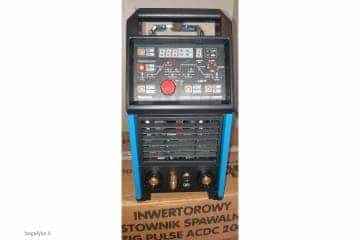 Suvirinimo aparatas SHERMAN DIGITIG  AC/DC 200GD aliuminiui - 1/10