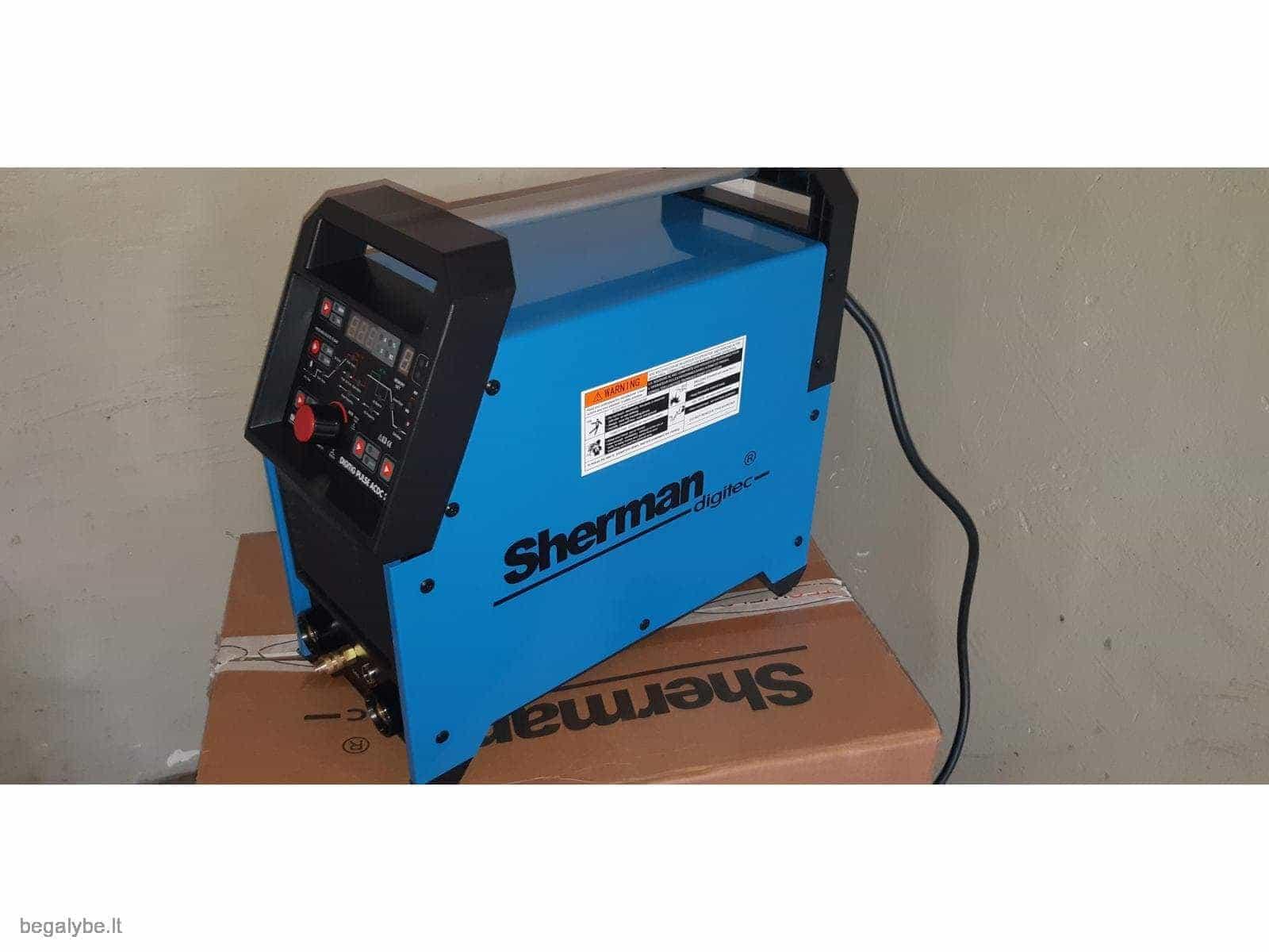 Suvirinimo aparatas SHERMAN DIGITIG  AC/DC 200GD aliuminiui - 4/10