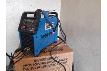 Suvirinimo aparatas SHERMAN DIGITIG  AC/DC 200GD aliuminiui - 8/10