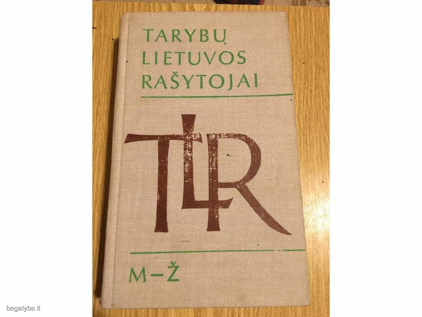 Tarybų Lietuvos rašytojai