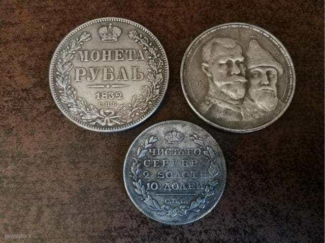 Trys įdomios monetos