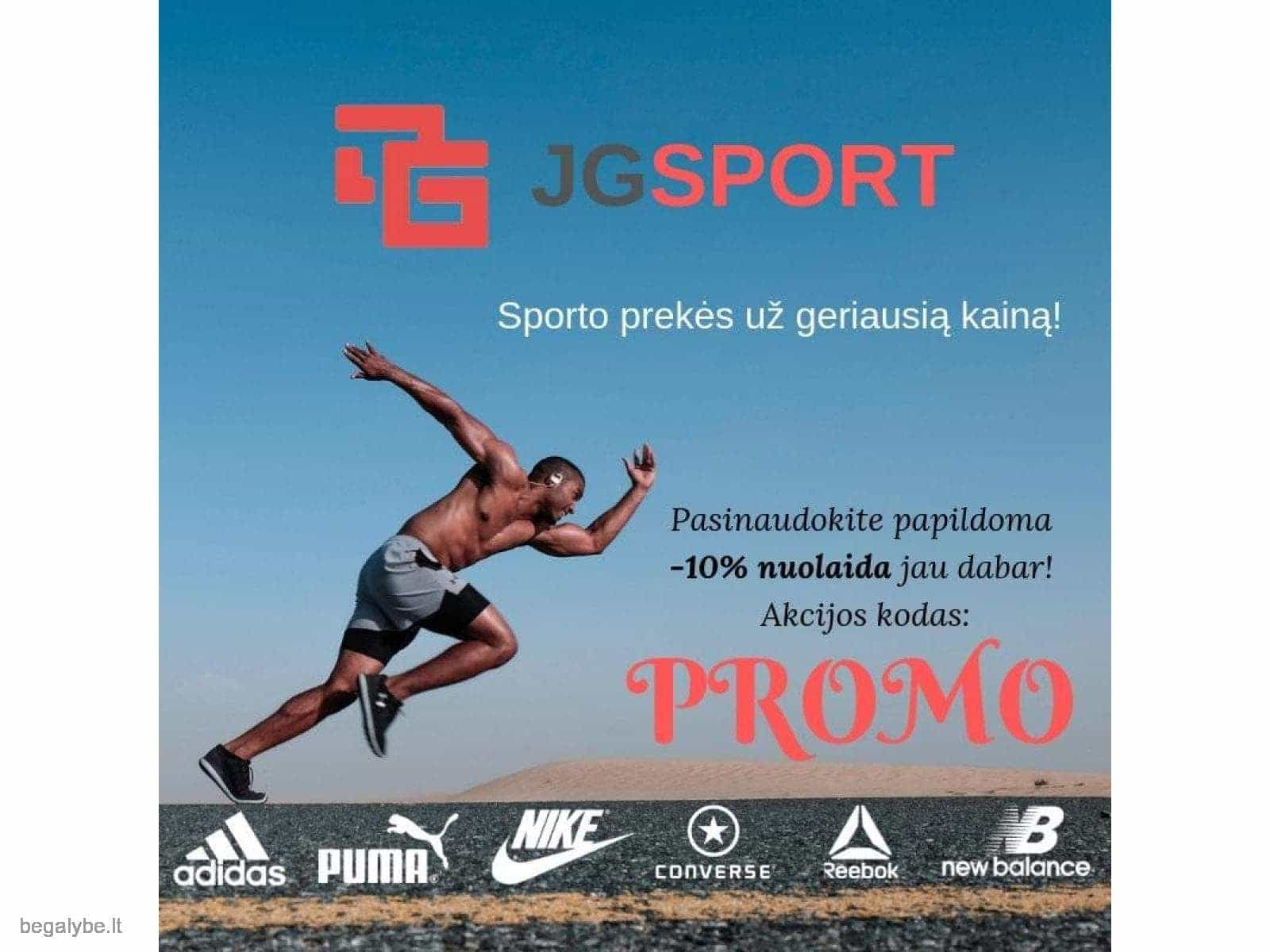 JGsport.lt - sporto prekės už geriausią kainą!