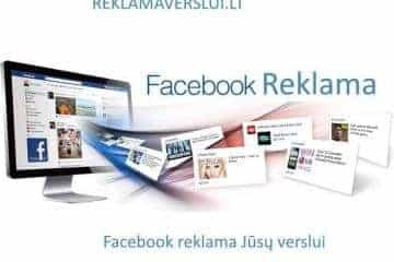 Facebook reklama verslui - 1/1