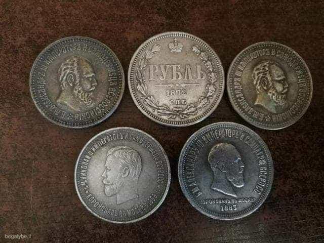 Penkios monetos