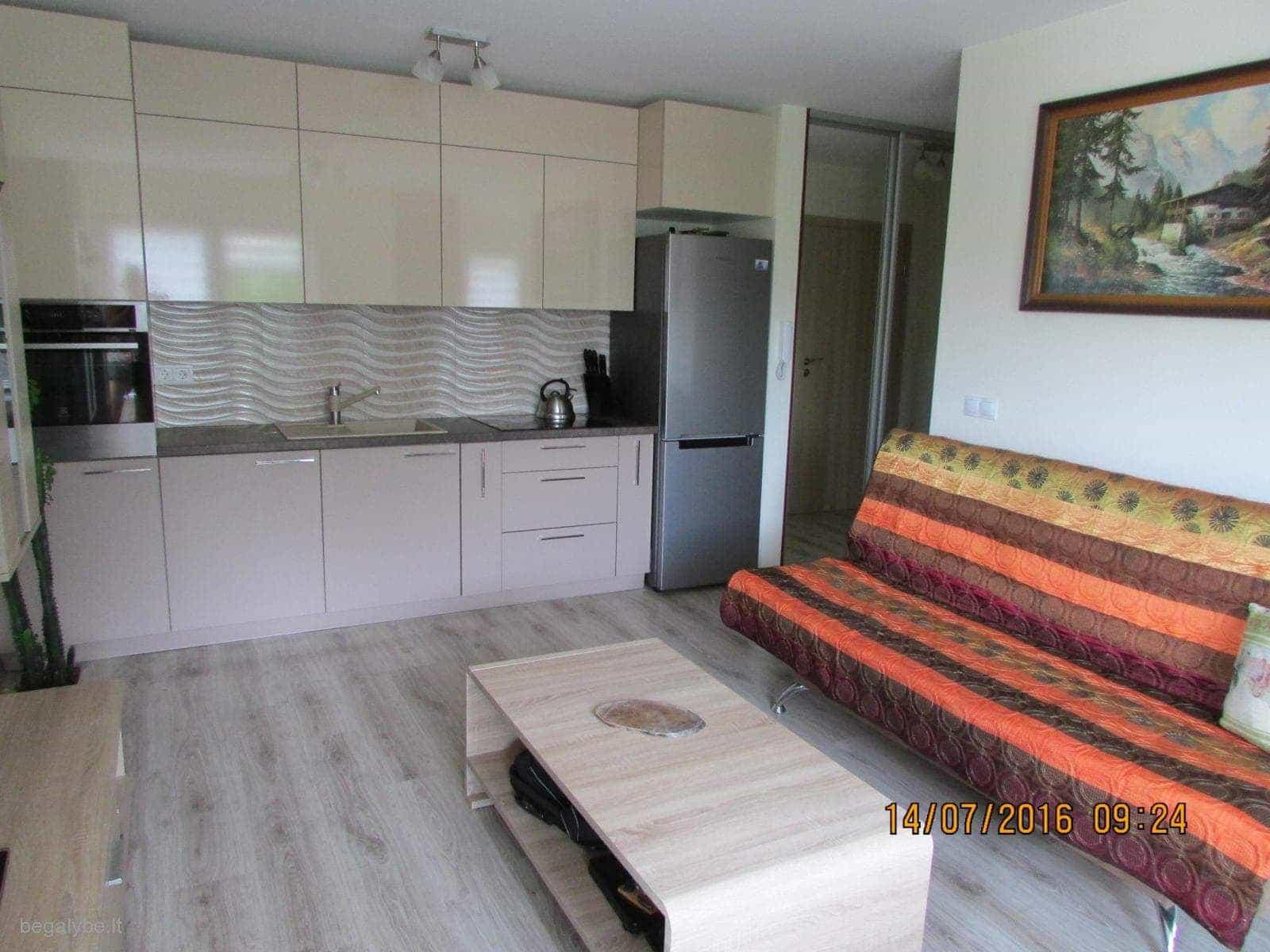 """Naujas 1 kambario butas Smėlio kopa"""""""