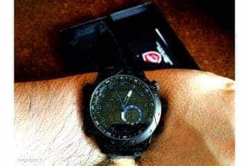 SHARK juodas ryškus laikrodis firminėje dėžutėje - 1/7
