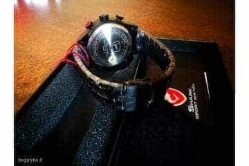 SHARK juodas ryškus laikrodis firminėje dėžutėje - 5/7