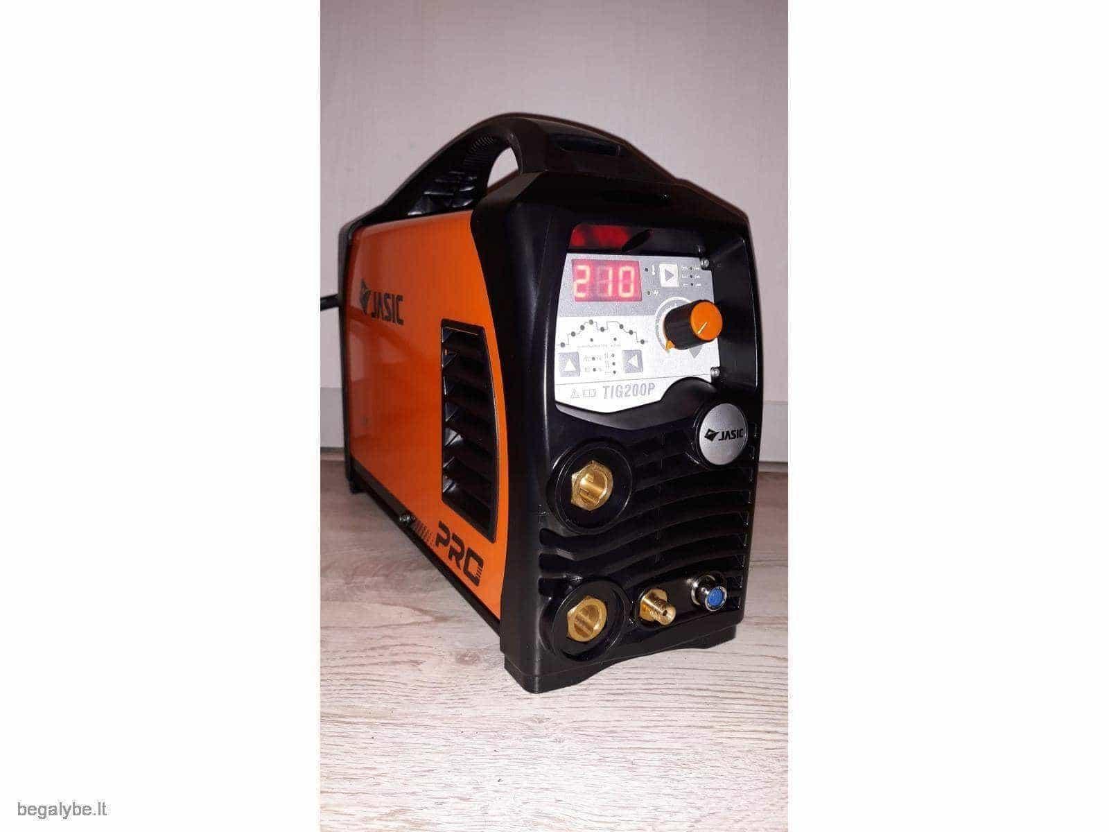 Suvirinimo aparatas Jasic tig/mma 200A - 2/20