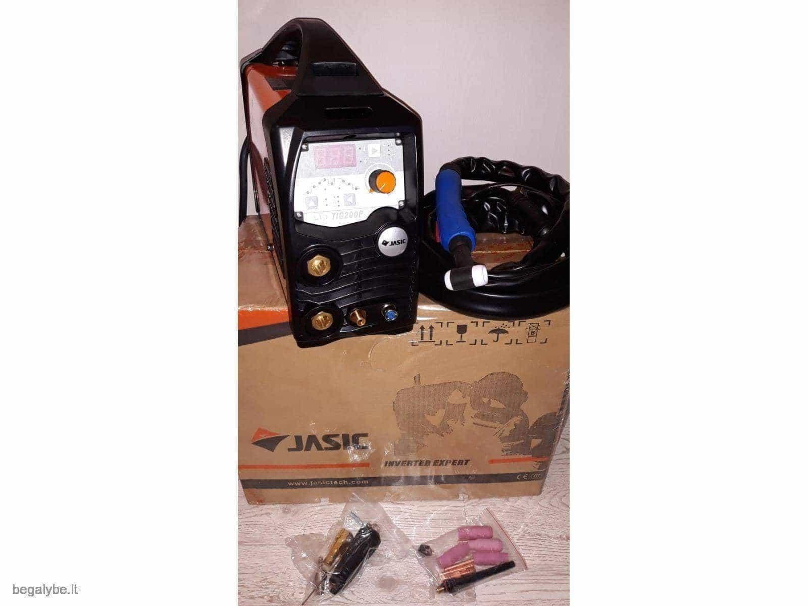 Suvirinimo aparatas Jasic tig/mma 200A - 3/20