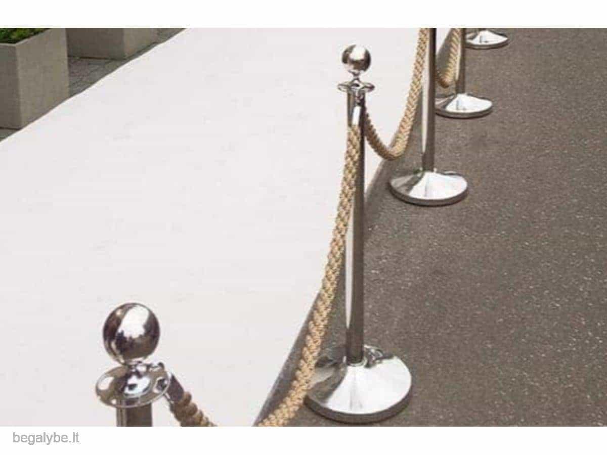 Dekoratyvinių atitvėrimo stovelių nuoma