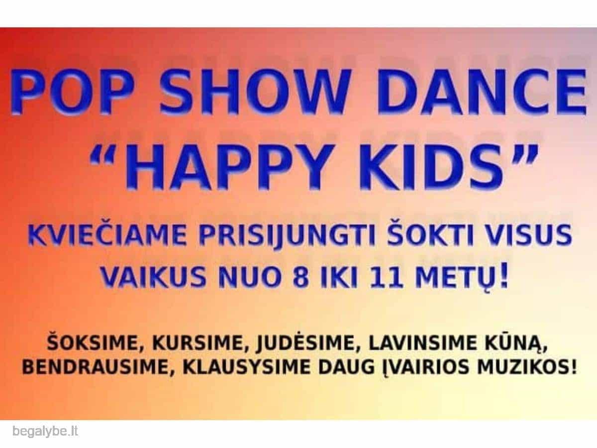 kviečiame vaikus šokti
