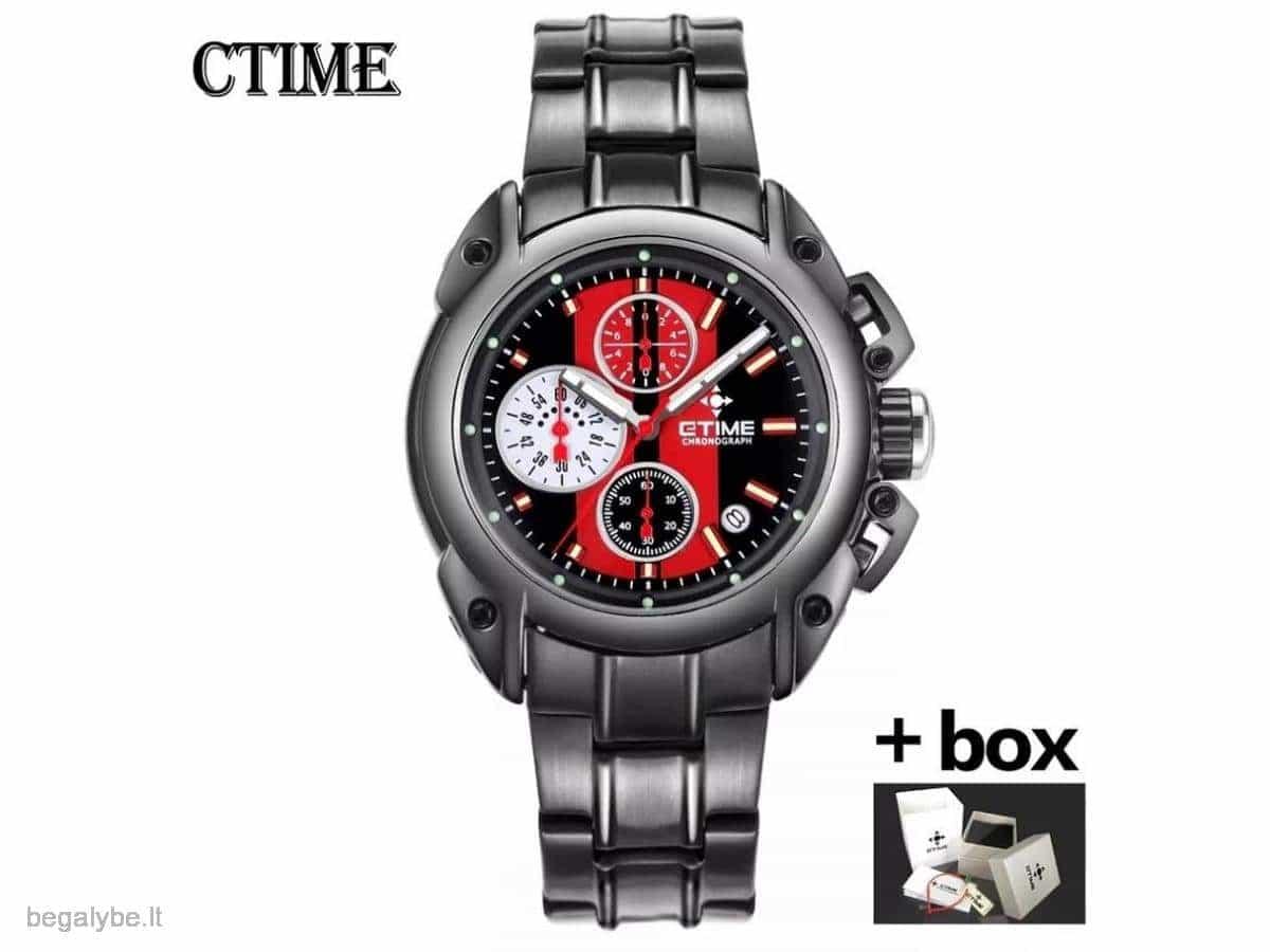ETIME išskirtiniai patrauklūs laikrodukai firminėse dėžutėse