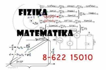 Matematika Fizika Chemija ir kt. - įvairi pagalba studentams - 1/1