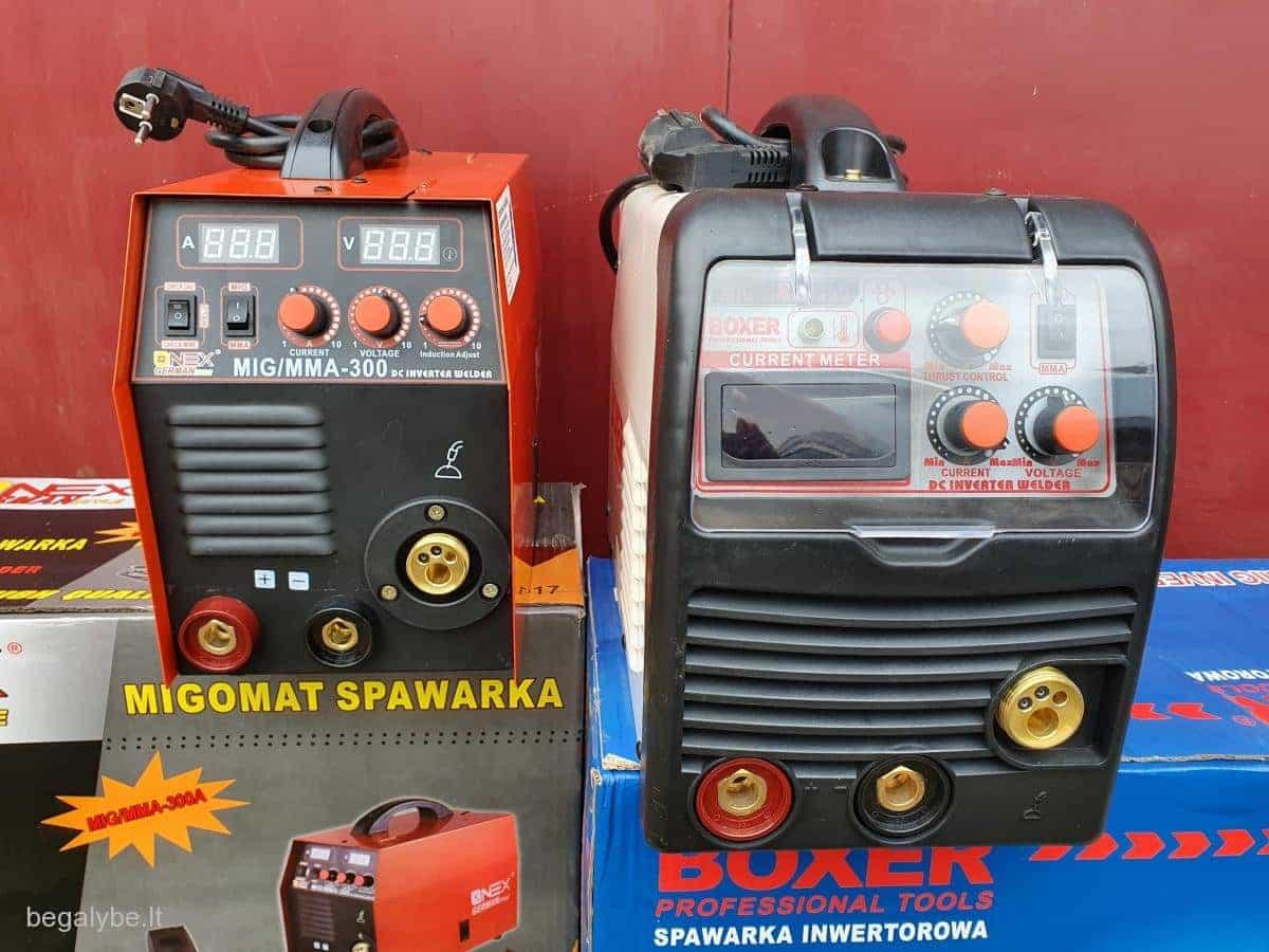 Pusautomatis+svarkė boxer-350A onex-300A - 8/19