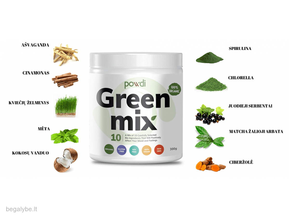 powdi green mix - 1/1