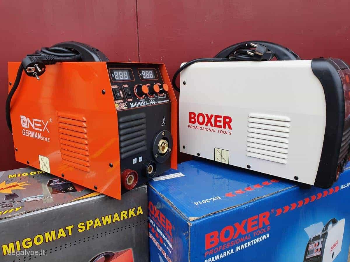 pusautomatis+svarke boxer-350s onex-300a akcija - 4/20