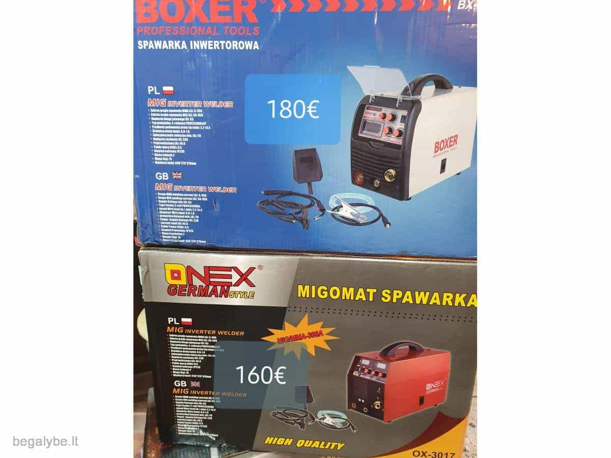 pusautomatis+svarke boxer-350s onex-300a akcija - 10/20