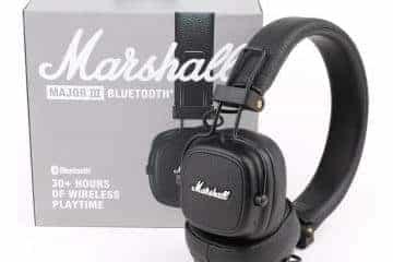 Marshall Major III Bluetooth, Juodos - 2/2