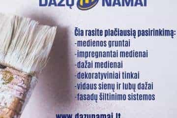 Dažų namai (www.dazunamai.lt) – specializuota dažų parduotuvė