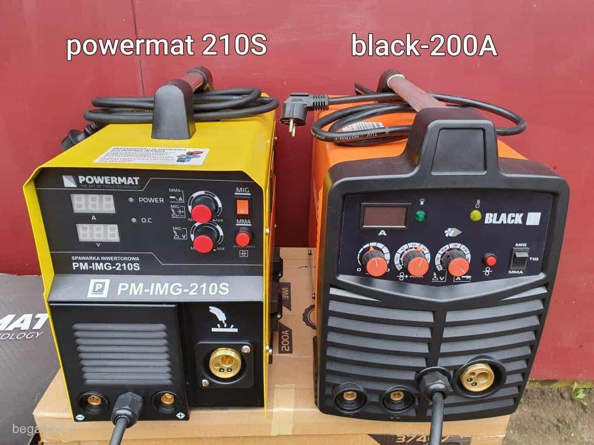 powermat black serijos pusautomaciai, hameleonai, balionai - 5/20