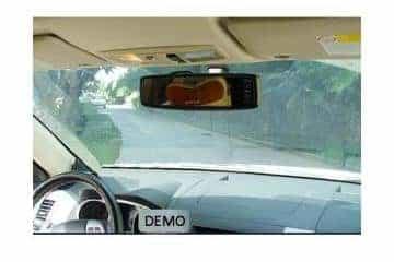 Parkavimo sistema galinio vaizdo veidrodėlyje PMC-240+ 4 davki - 5/13