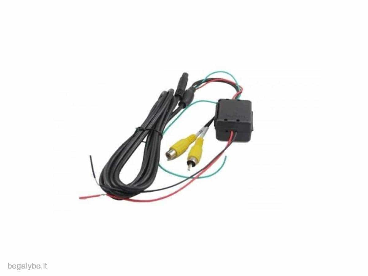 Parkavimo sistema galinio vaizdo veidrodėlyje PMC-240+ 4 davki - 11/13