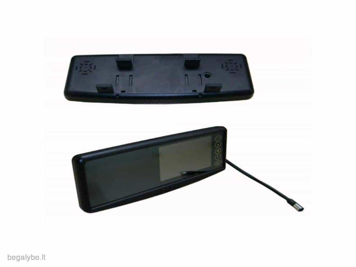Parkavimo sistema galinio vaizdo veidrodėlyje PMC-240+ 4 davki - 12/13