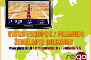 GPS navigacijų remontas, navigacijų servisas, žemėlapių atnauj - 1/6