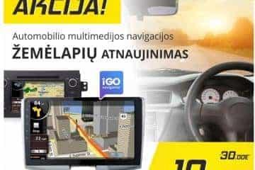 GPS navigacijų remontas, navigacijų servisas, žemėlapių atnauj - 6/6