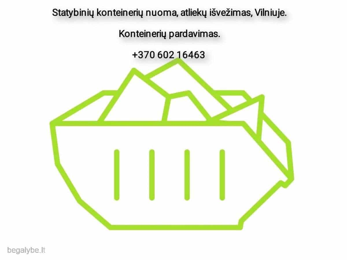 Statybinių konteinerių nuoma, atliekų išvežimas - 2/7