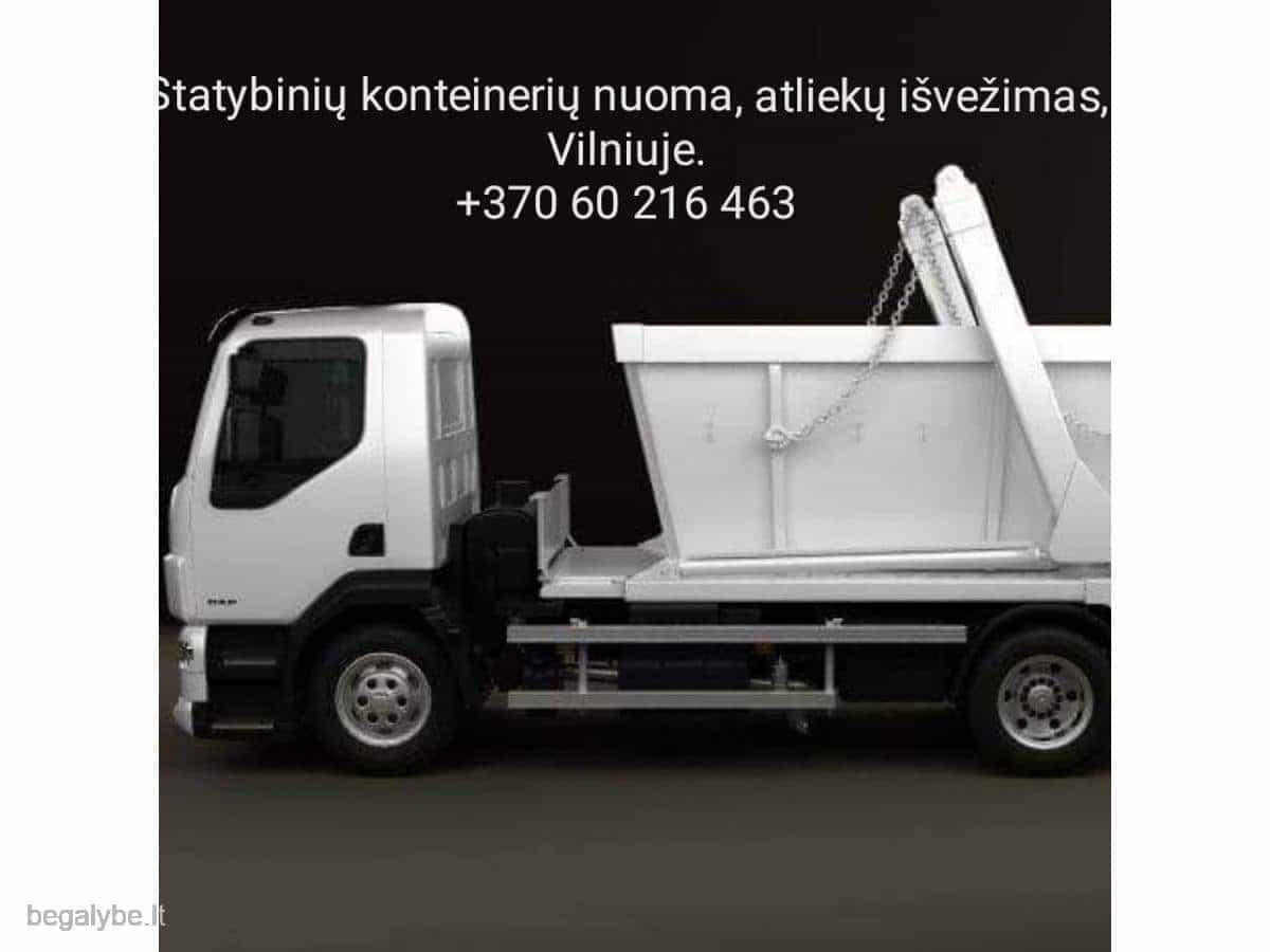 Statybinių konteinerių nuoma, atliekų išvežimas - 5/7