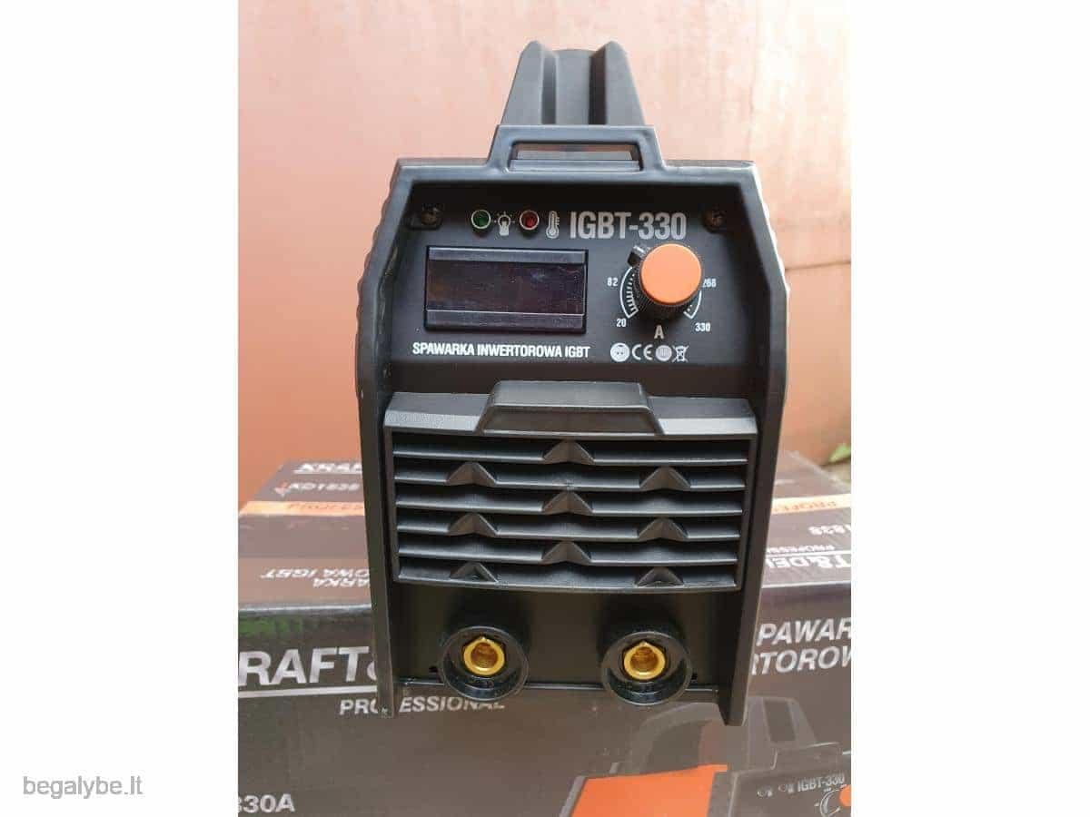 Suvirinimo aparatas Kraftdele-330A - 6/17