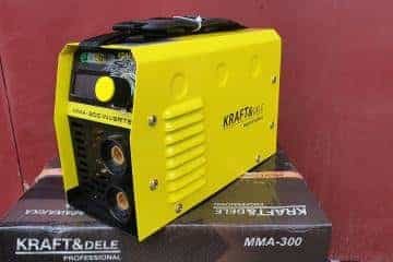 Suvirinimo aparatas Kraftdele-330A - 9/17