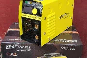 Suvirinimo aparatas Kraftdele-330A - 13/17
