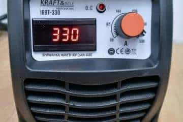 Suvirinimo aparatas Kraftdele-330A - 16/17