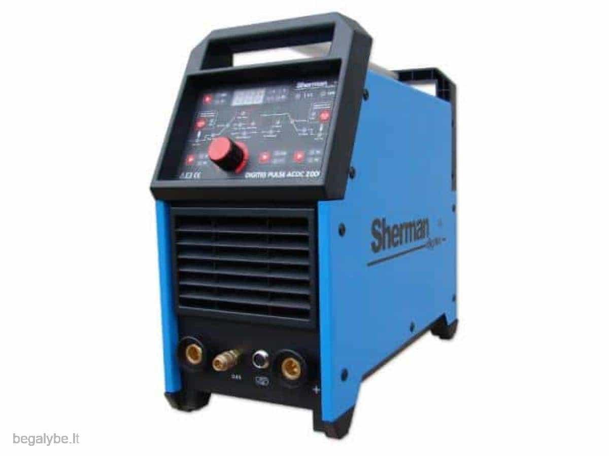 Suvirinimo aparatas sherman digitig ac dc 200GD - 1/19